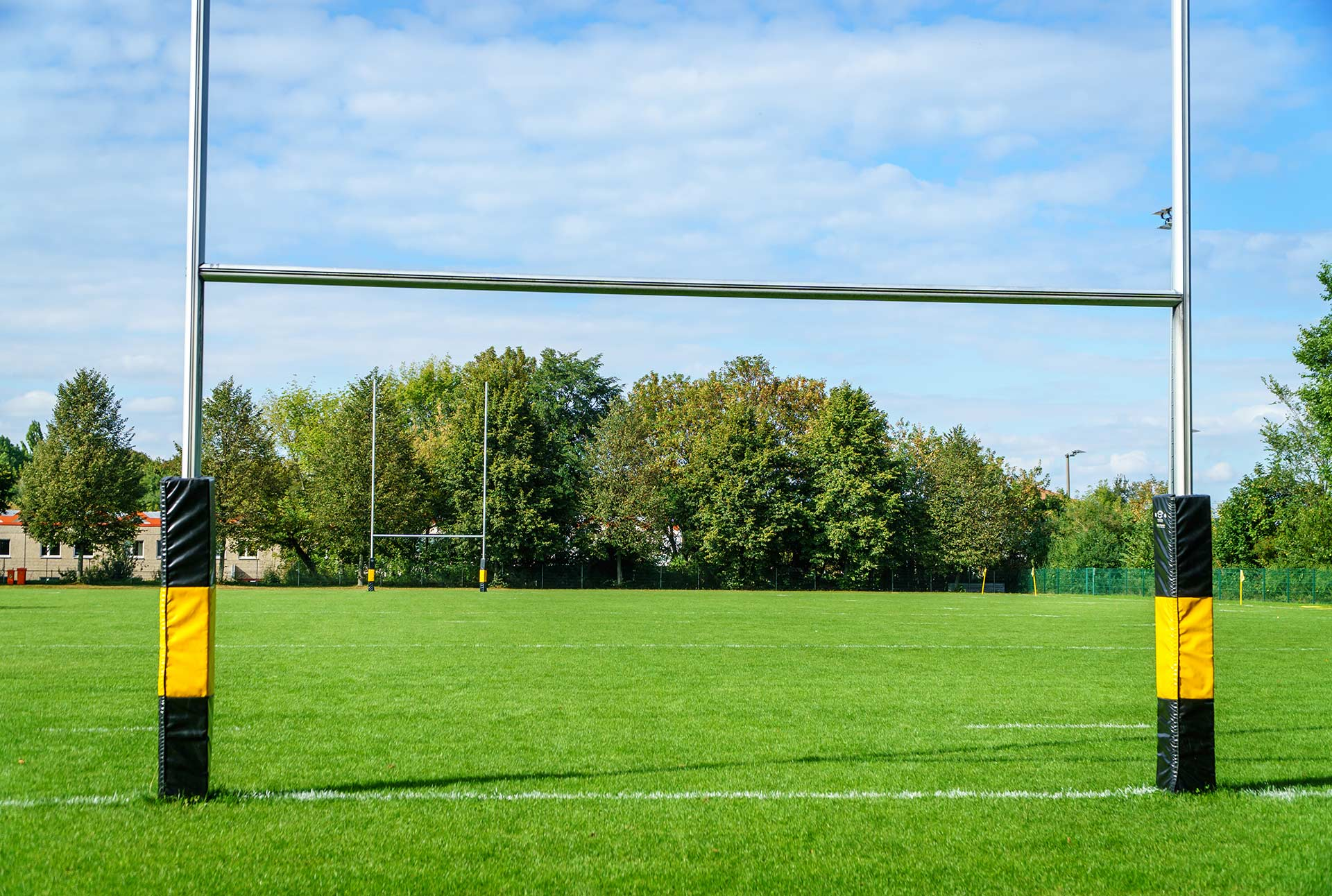 Field goals on a football field
